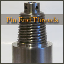 Pin End Threads